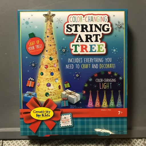 Color Changing String Art Tree