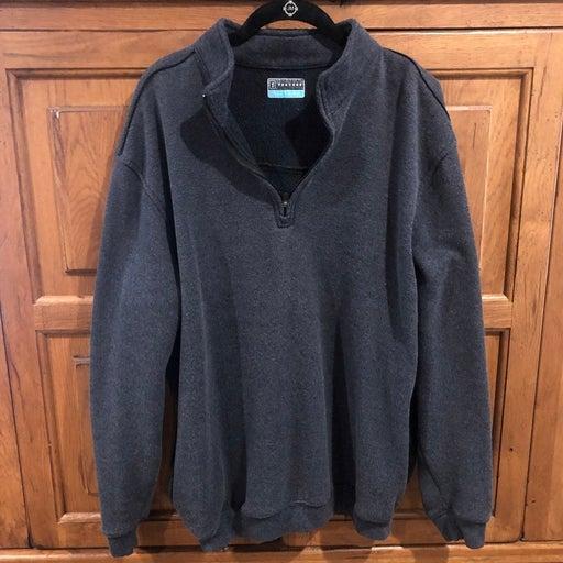 PGA tour grey fleece pullover XL