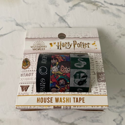 Harry Potter Slytherin washi tape