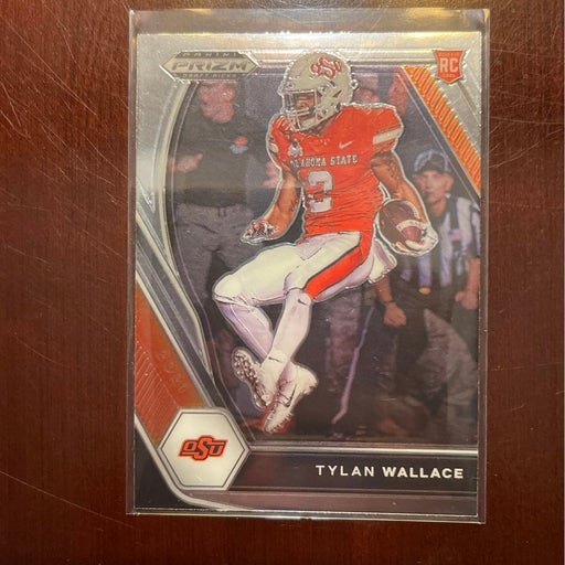 PRIZM Tylan Wallace rookie card