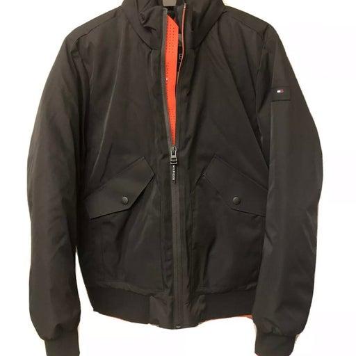tommy hilfiger th flex jacket dark navy size M polyester NEW.