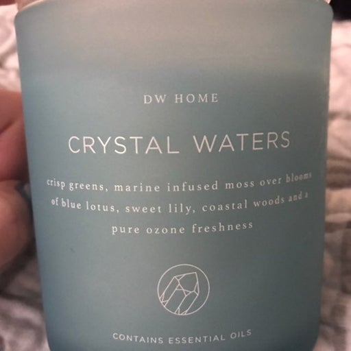 DW Home Crystal Waters Candle