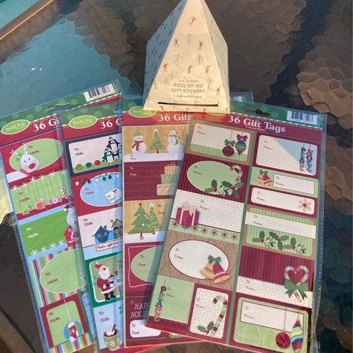 Christmas theme stickers
