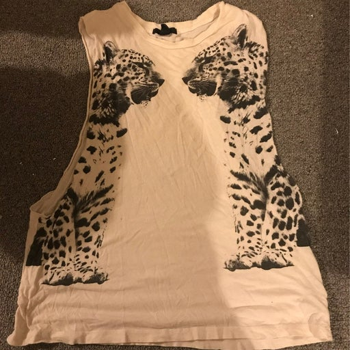Cat Tank Top- Size Med