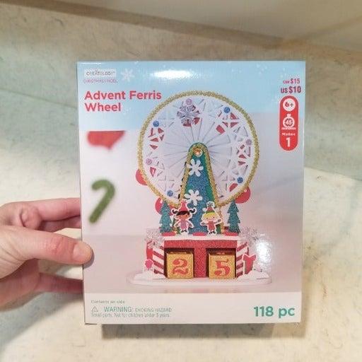 Advent Ferris Wheel Craft DIY 118pcs
