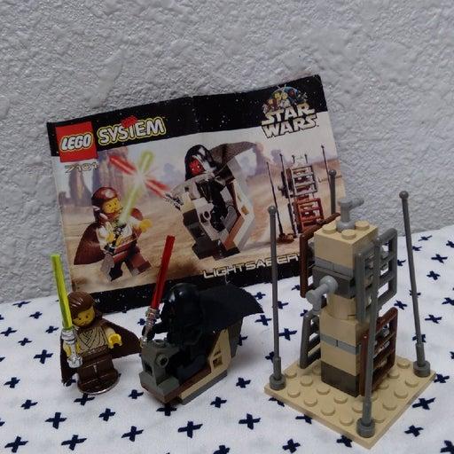lego 7101 - light saber duel