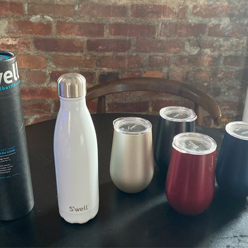 Swell bottle + other drinkware