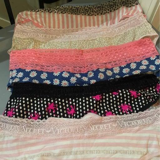 Victoria's secret brief panties size large 5 pair