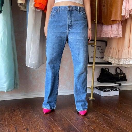 Men's Regular Dickies Straight Leg Denim Jeans