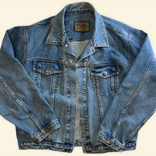 Vintage 90's Timberland Denim Jean Jacket