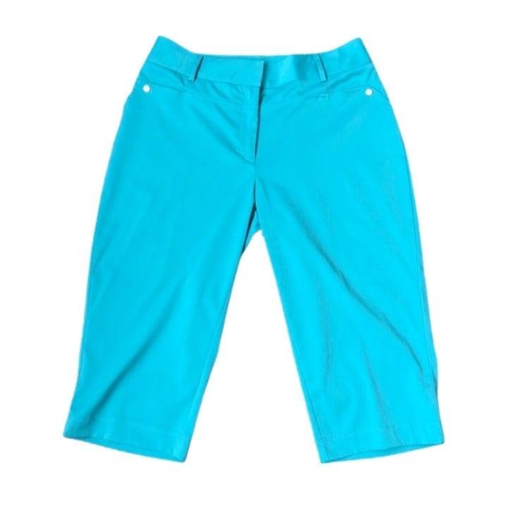 NWOT Tail Capris Golf Pants | 8 | Teal