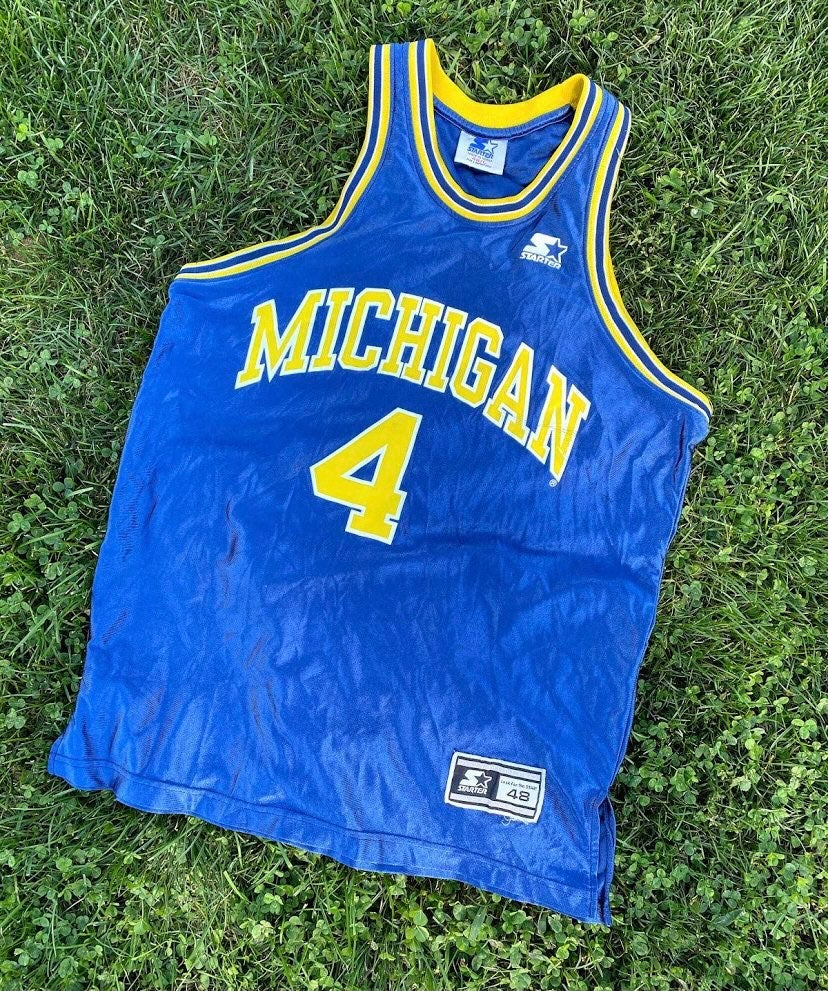 VTG Starter Chris Webber Michigan Jersey