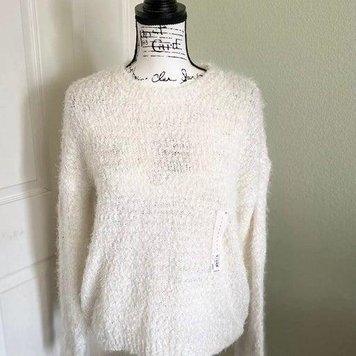 Juniors' SO Eyelash Crewneck Pullover Sweater
