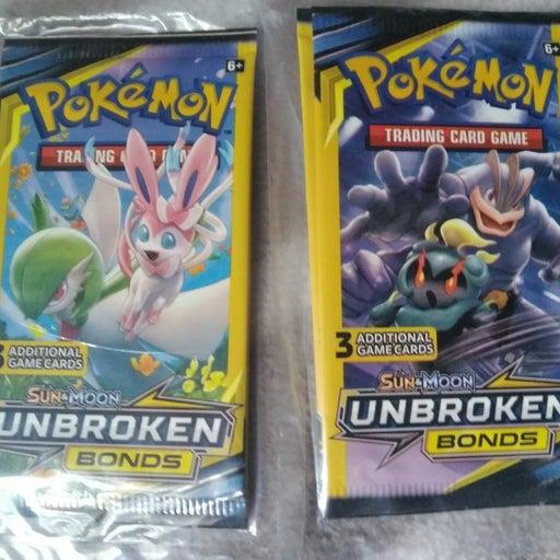 Pokemon Sun and Moon Unbroken Bonds Trad