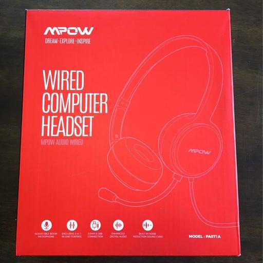 Mpow headset, earphones