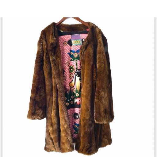 Custo barcelona reversible faux Fur Coat