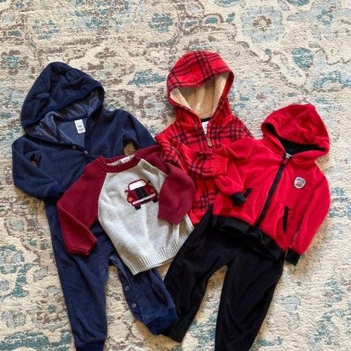 Adorable Baby Boy Clothing Bundle