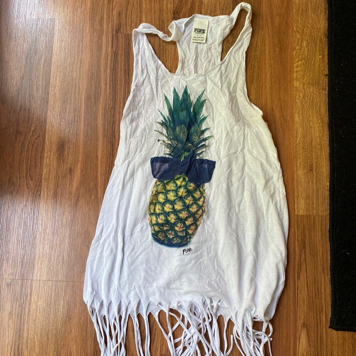 VS PINK Pineapple Tank Top