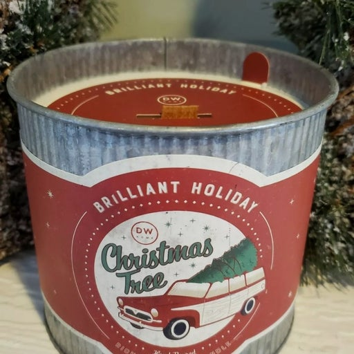 DW Home CHRISTMAS TREE Wooden Wick HUGE