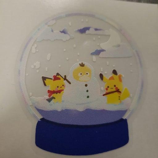 Pokemon Snow Globe Stickers