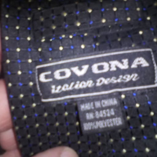 Nice tie Covona blue and gold dotted