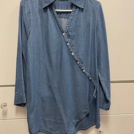 Soft Surroundings denim tunic XS