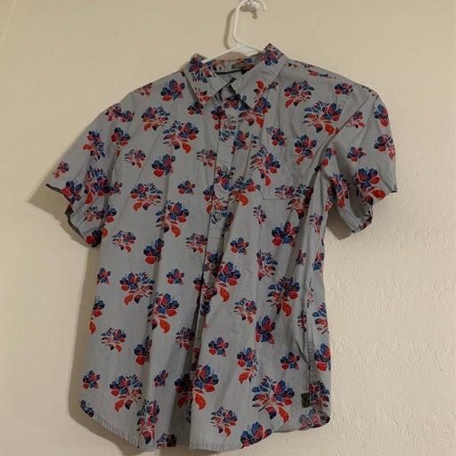 Ocean Current Boy's Button Up Shirt
