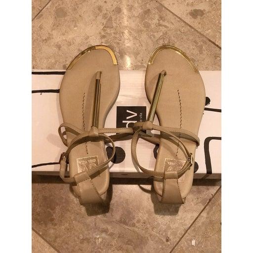 Dolce Vita Nude Stella Leather Sandal