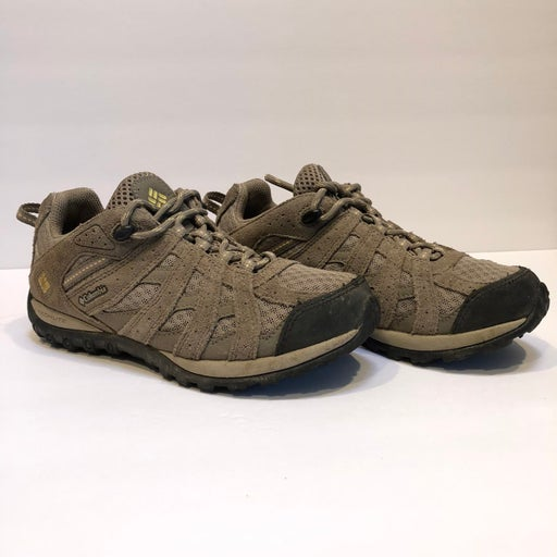 Columbia Women's Size 6 Hiking/Trail Shoes Tan/Beige