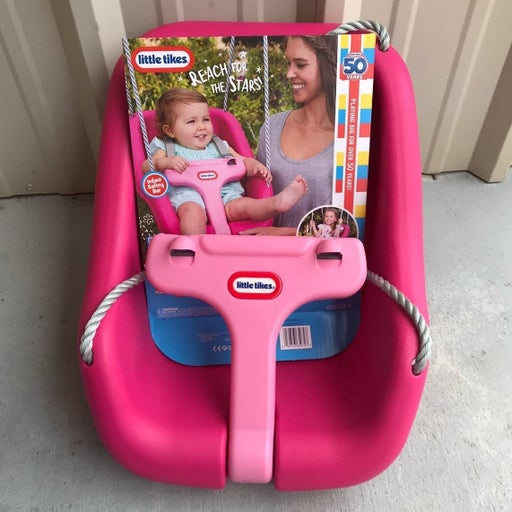 Little Tikes Snug And Secure Swing Pink