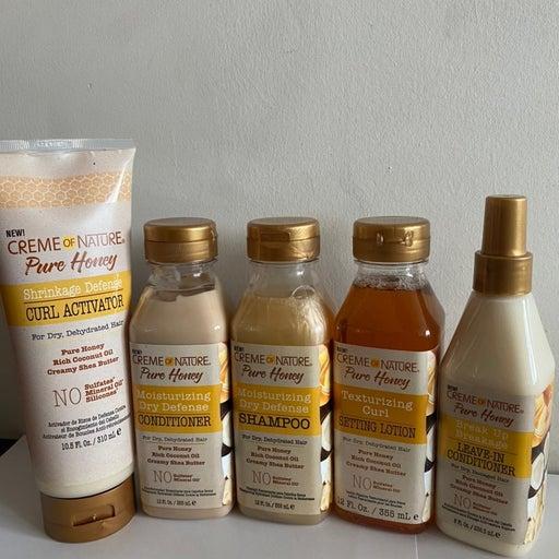 Creme Of Nature Pure Honey Set -(5pcs)