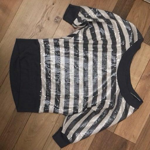 Woken Quarter Sleeves Sweater