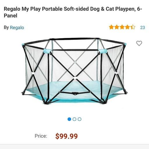 Cute Blue Playpen