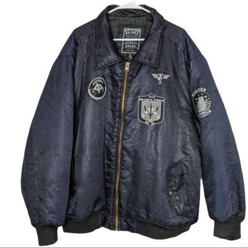 Avirex Superior coat jacket zip up XXL