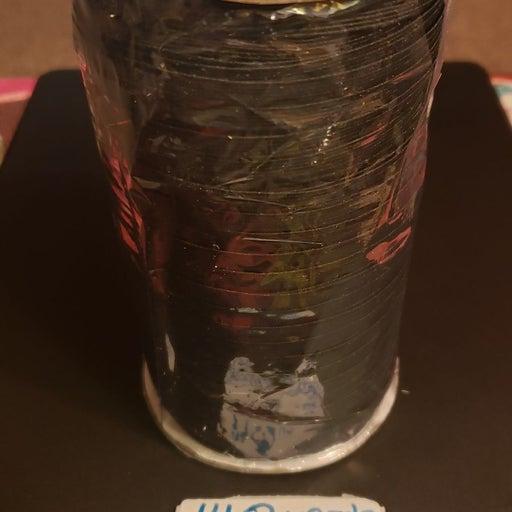1/4 inch Black 140 yds Elastic Roll