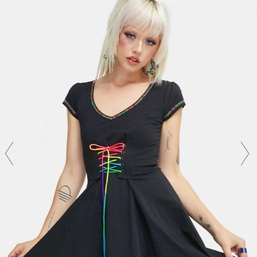 Dollskill Vibrant Mood Dress