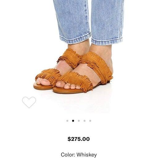 NEW Joie Pippa surde fringe sandals