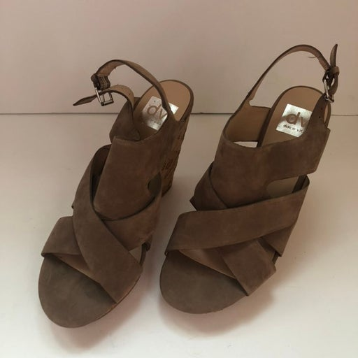 DV By Dolce Vita Cork Wedge Sandals 8.5