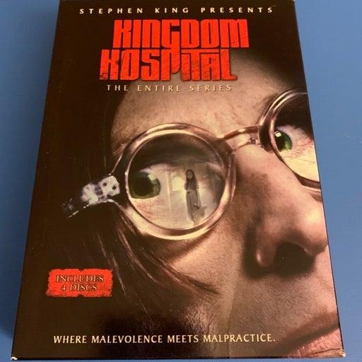 Kingdom Hospital the Entire Series DVD set Stephen King RARE