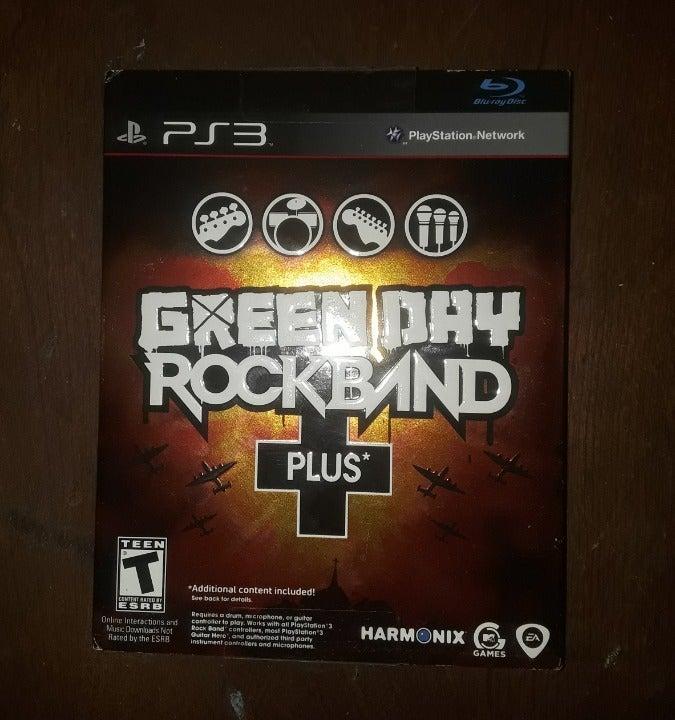 PS3- Green Day Rockband Plus