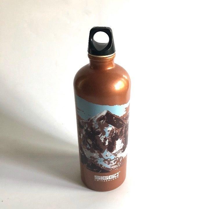 Sigg Everest Mountain Brown Water Bottle