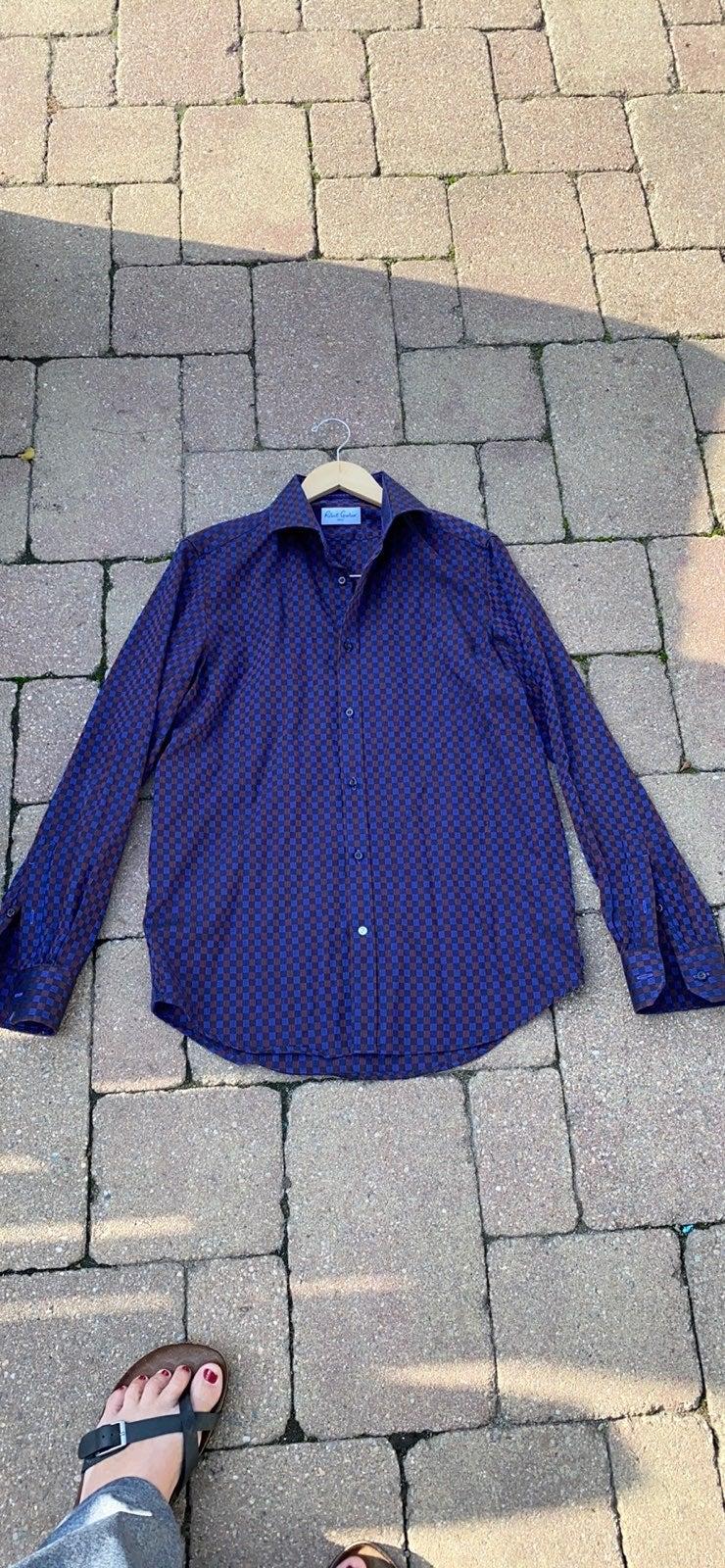 Robert Graham  Size 39 Cked Dress Shirt