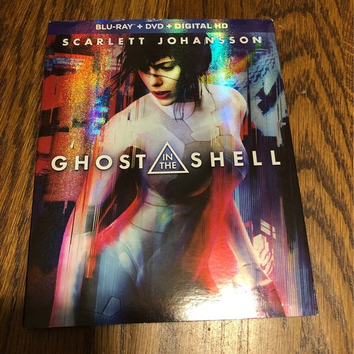 Ghost In The Shell Target Exclusive Blu ray /DVD Combo/ Lucy Blu ray / DVD