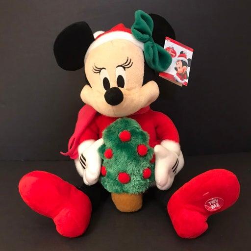 Minnie Lighted Christmas Tree Musical