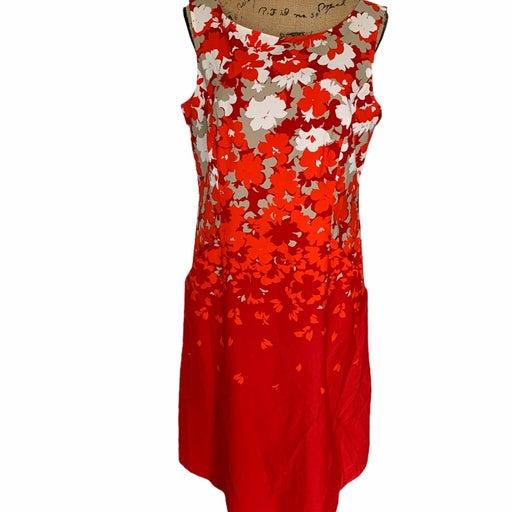 Women Floral Pendleton Sleeveless Dress
