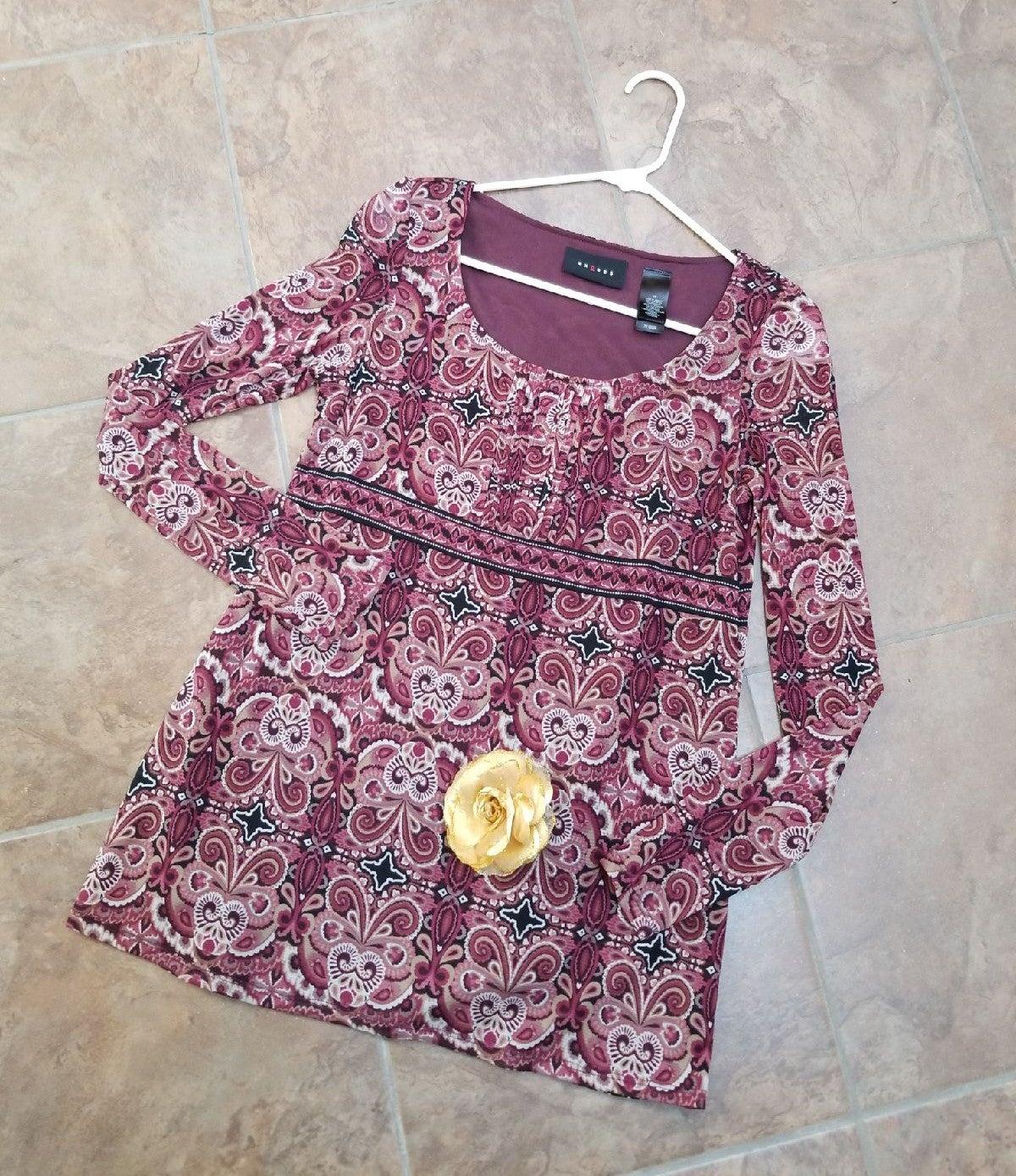 Bundle of size M axcess blouse M