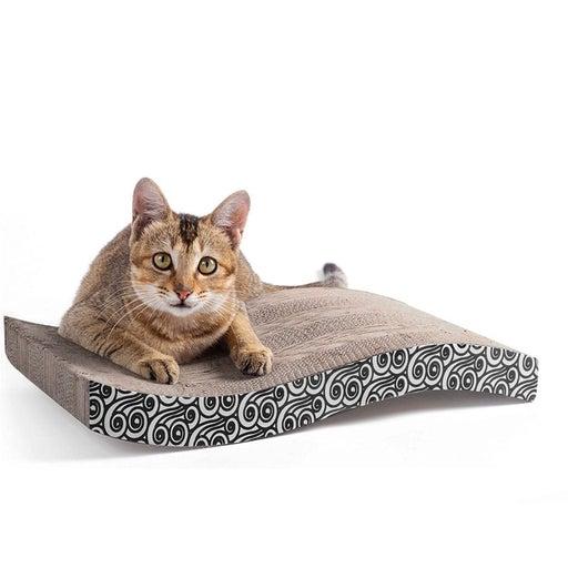 cat scratch pad with catnip