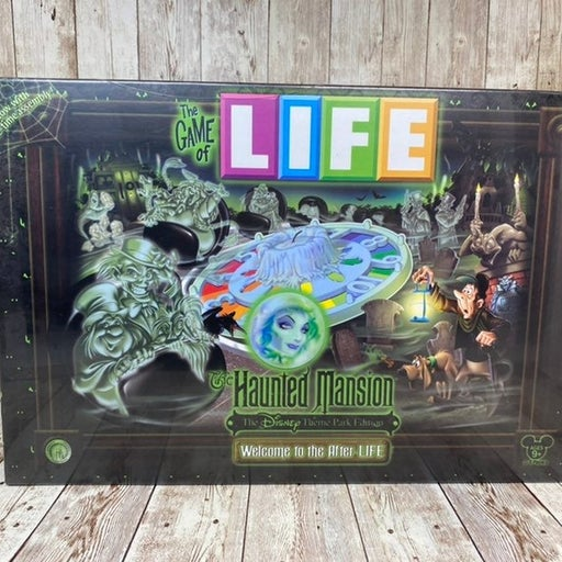 Disney Theme Park Edition Haunted Mansion The Game of Life Brand New Sealed
