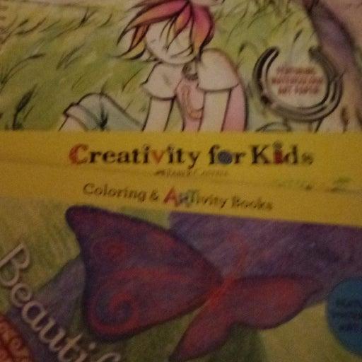 Creativity for kids 2 books