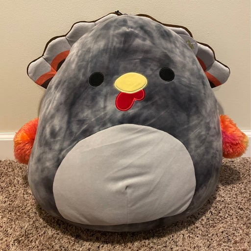 """Terry the Turkey 16"""" Squishmallow"""